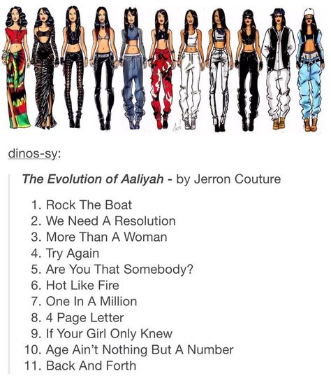 on Evolution of Aaliyah sean. on Evolution of Aaliyah