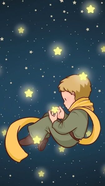 Kucuk Prens The Little Prince Le Petit Prince El Peincipito In 2020 Cartoon Wallpaper Cute Wallpapers Cute Disney Wallpaper