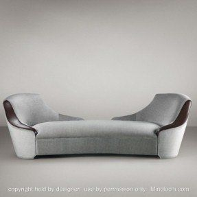 Indoor Double Chaise In 2020 Chaise Lounge Indoor Bench