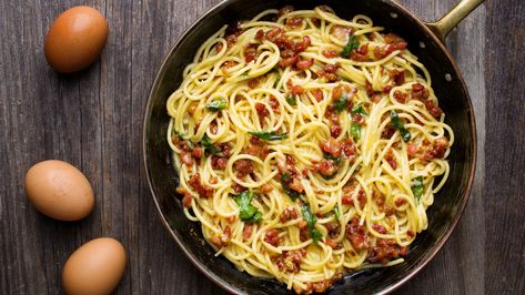 The Best Spaghetti Carbonara Recipe MAN'S BLACK BOOK