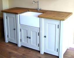 Free Standing Kitchen Sink Cabinet Free Standing Kitchen Sink Cabinet Stand Alone And Wooden Unit I A Kitchensink Ideias