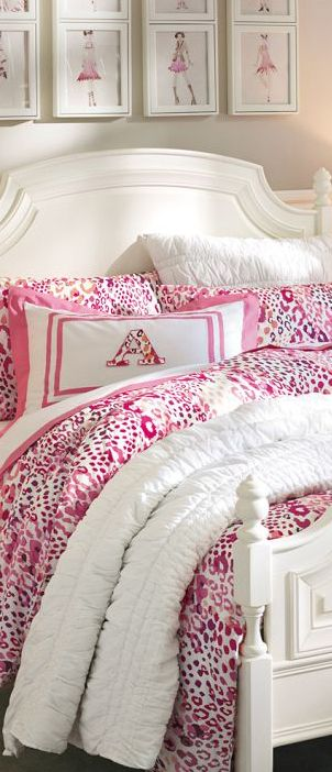 Cheetah Duvet #girls #rooms