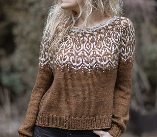 Wildwood Sweater pattern by Heidi May in 2020 | Sweater