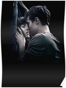 Fifty Shades Poster By Justforya In 2020 Shades Of Grey Movie