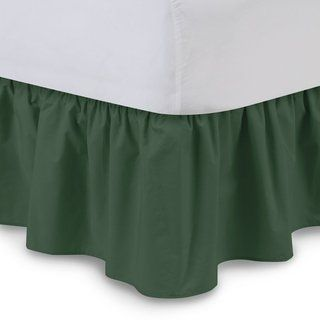 Sage Green Bed Skirt Solid Bliss 400tc In 2021 Green Bedding Bedskirt Best Thread Count