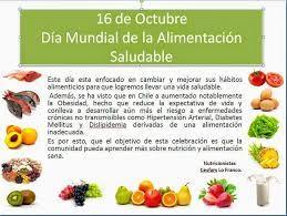 Resultado De Imagen Para 16 Octubre Dia Mundial De La Alimentacion Carteleras Escolares Alimentacion Alimentacion Saludable