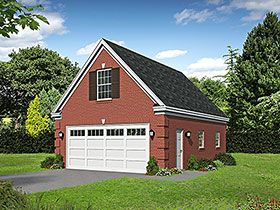 Traditional Style 2 Car Garage Apartment Plan Number 52114 Garage Plans With Loft Country Style House Plans House Plans