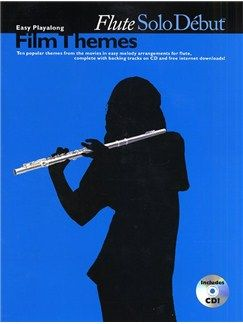 Solo Debut Film Themes Easy Playalong Flute Books Flute Flute Online Music Stores Film