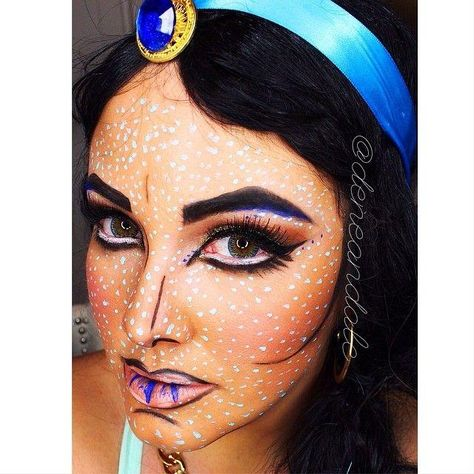 20 Seriously Cool (and Easy) Halloween Makeup Ideas Pinterest - cool makeup ideas for halloween