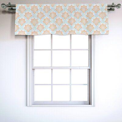East Urban Home Ambesonne Oriental Window Valance Themed