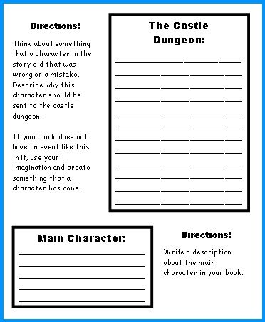 Game Board Book Report Project templates, worksheets, grading - project report writing template