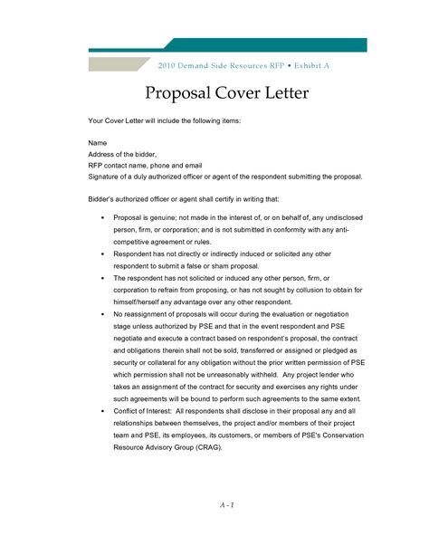 Cover letter for research project proposal A broad interest - contract proposal