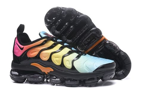 58b6474185731 Cheap Nike Air Max TN 2018 Plus Mens shoes Colorful Black Wholesale To  Worldwide and Free Shipping