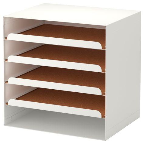 Kvissle Corbeille A Courrier Blanc Corbeille A Courrier Ikea Et Idee Deco Bureau