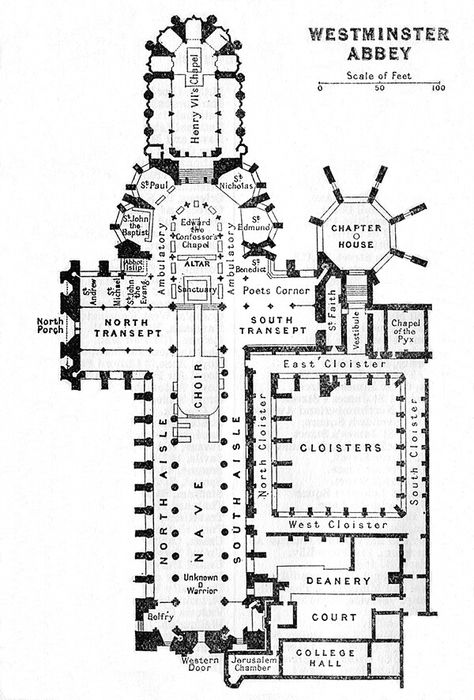 Westminster aby | Plany Architniczne | Westminster abbey ... on