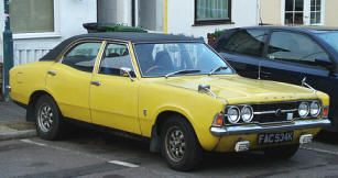 1970 1974 Ford Cortina 1600gt Mk Iii Classic British Ford Cars