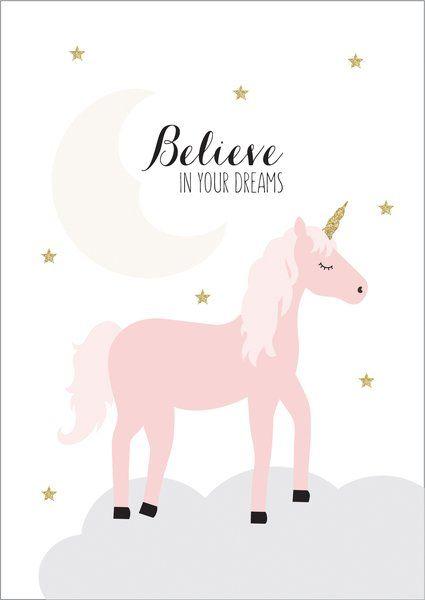 Dream Unicorn Print