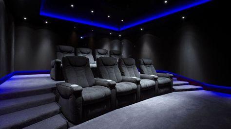 Cinema Room bespoke home cinema room commissioned - janes architectural