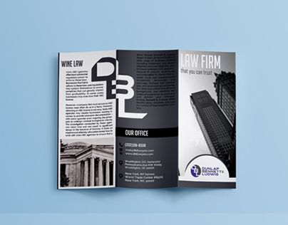 check out new work on my behance portfolio 3 fold brochure design