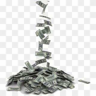 Money Falling Into Pile Hd Png Download Png Money Emoji Money