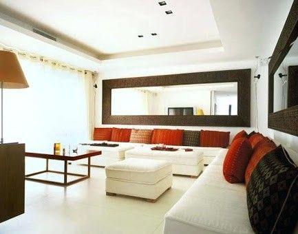 10 Uplifting Antique Wall Mirror Decor Ideas Living Room