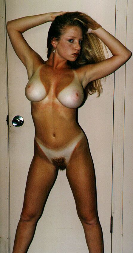 Tan nude lines shot self