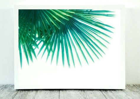 Palm Tree Print Tropical Print Art Glam Decor Palm by CristylClear