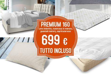 Materassi Letto Matrimoniale Prezzi.Premium New 160 Nel 2020 Materasso Letto Contenitore E