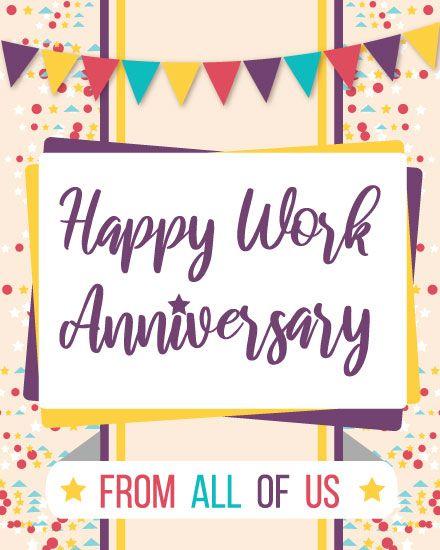 Groupgreeting Anniversary Cards Work Anniversary Cards Employee Anniversary Cards Work Anniversary