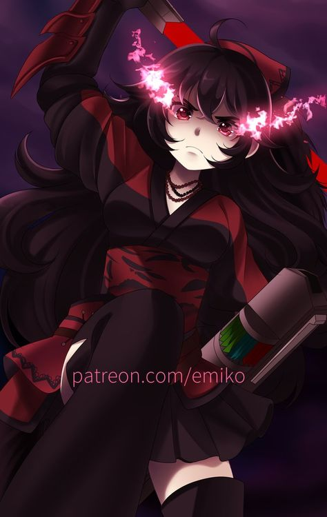 Raven Branwen by Final-Boss-Emiko