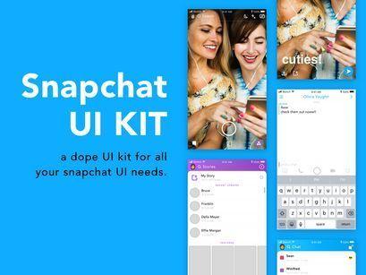 Pin On Snapchat Ui Kit