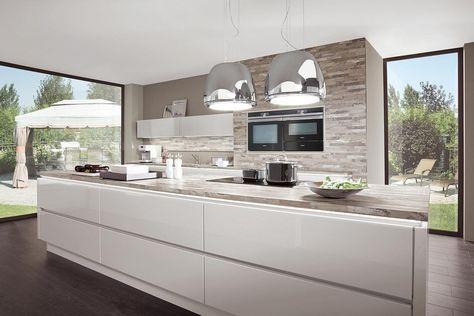 küche hochglanz weiß norina 9555 Küche Pinterest Kitchens - küchenschrank hochglanz weiß