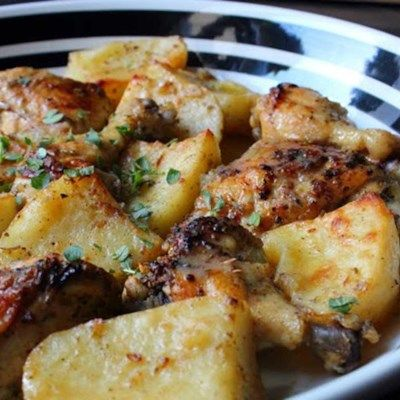 Chef John S Best Recipes For The Mediterranean Diet Greek Lemon Chicken Food Wishes Greek Chicken And Potatoes