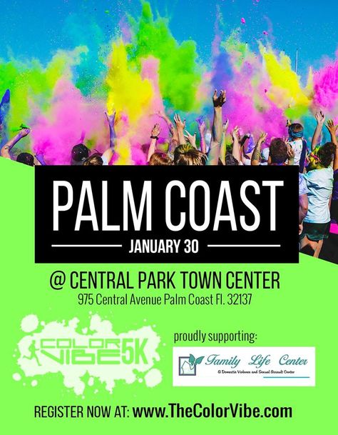 Color Vibe Is Coming To Palm Coast Fl