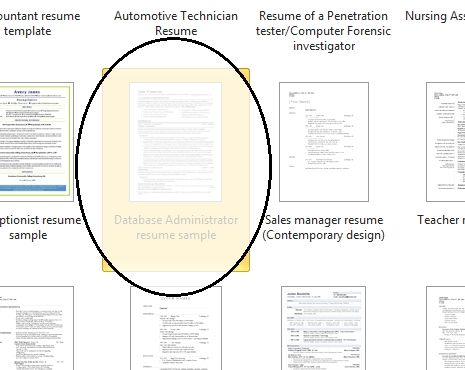 Microsoft Resume Template Word 2010 In 2020 Microsoft Resume Templates Resume Template Word Microsoft Word Resume Template