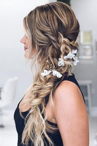 39 Braided Wedding Hair Ideas You Will Love Wedding Forward Wedding Hair Side Braided Hairstyles For Wedding Braids For Long Hair