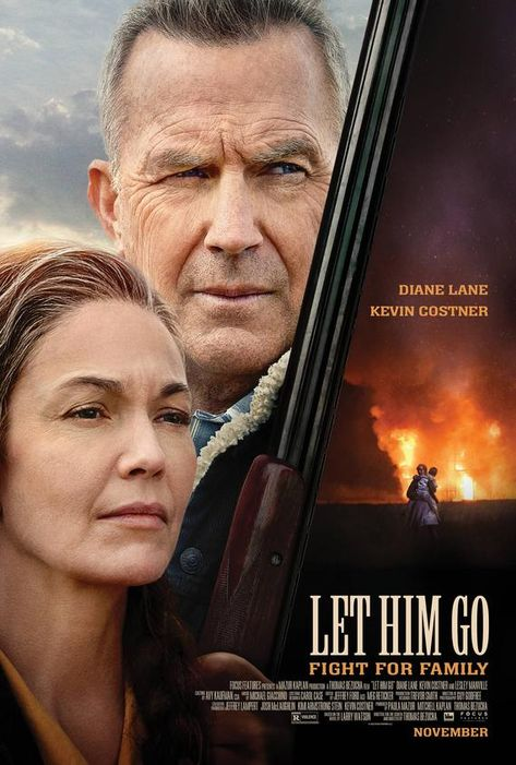 Let Him Go Movie Poster High Quality Glossy Print Photo Wall Art Diane Lane, Kevin Costner Sizes 8x1