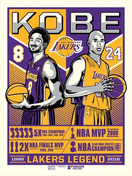 Los Angeles Lakers Kobe Legend Serigraph Lakers Kobe Kobe Bryant Kobe Bryant Poster