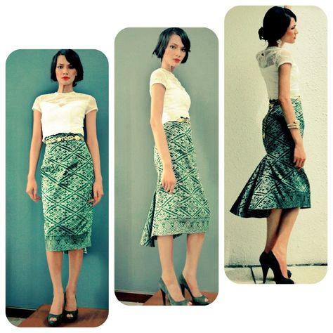 Adila Long Design's RTW #malaysia #batik #songket