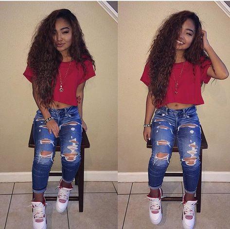 Girls wearing Jordans