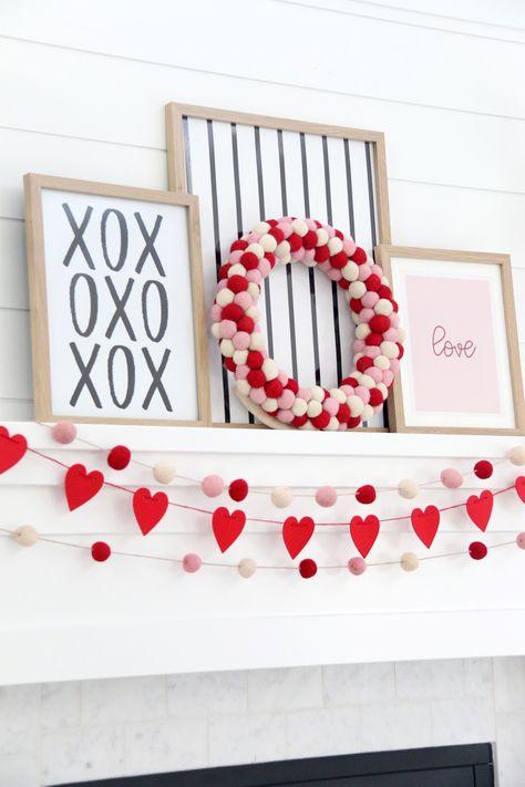 Valentines Decoration, Valentines Day Food, Valentine Day Crafts, Holiday Crafts, Holiday Fun, Valentines Day Quotes For Him, Valentine Tree, Valentines Design, Valentine Party
