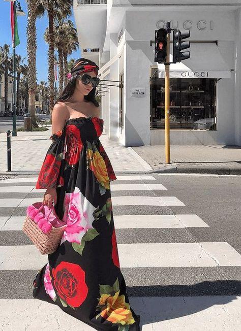 Hoy Aprenderás Todo Sobre Los Maxi Vestidos De Moda