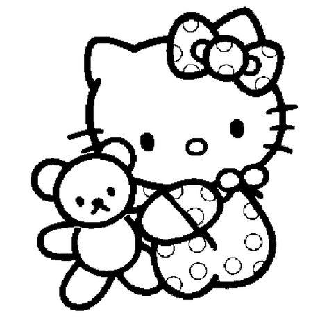 Voici Le Dessin D Hello Kitty Lorsqu Elle Etait Bebe Hello Kitty