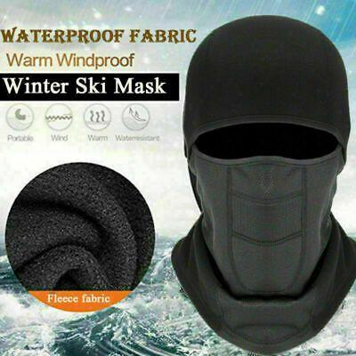 Unisex Windproof Neck Warmer Fleece Thermal Half Face Mask Cycling Ski Hat US