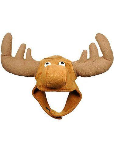 Crazy Moose Novelty Costume Hat | Active Life Essentials - Funny T-shirts