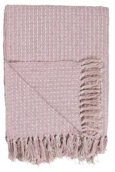 Decke Mit Muster 130x160 In Rosa In 2020 Muster Tagesdecke Und Rosa