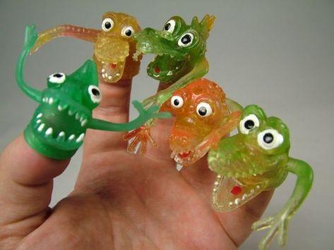 Monstruos de dedos | 29 Juguetes que todo chico de los 90 desearía secretamente seguir teniendo