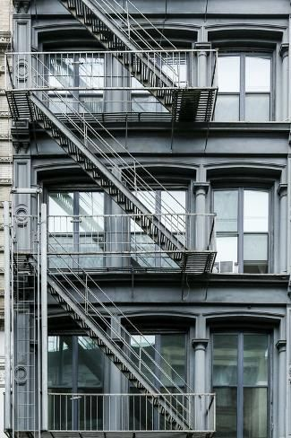 size: Premium Photographic Print: Apartment building exterior, New York City, NY, USA SoHo by Julien McRoberts : Soho Apartment, Seattle Apartment, Cute Apartment, Urban Apartment, New York City Apartment, New York Apartments, Cool Apartments, Building Aesthetic, City Aesthetic