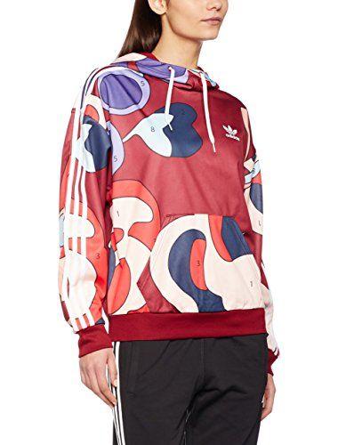 adidas Damen Rita Ora Hooded Sweatshirt Multicolor 40