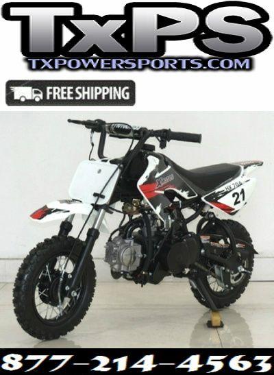 Rps Xmoto 70cc Automatic Dirt Bike With Electric Kick Start Dirt